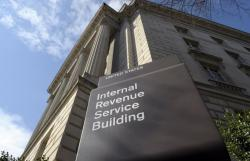 In this photo March 22, 2013 file photo, the exterior of the Internal Revenue Service (IRS) building in Washington