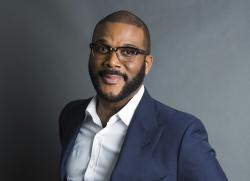 Actor-filmmaker and author Tyler Perry