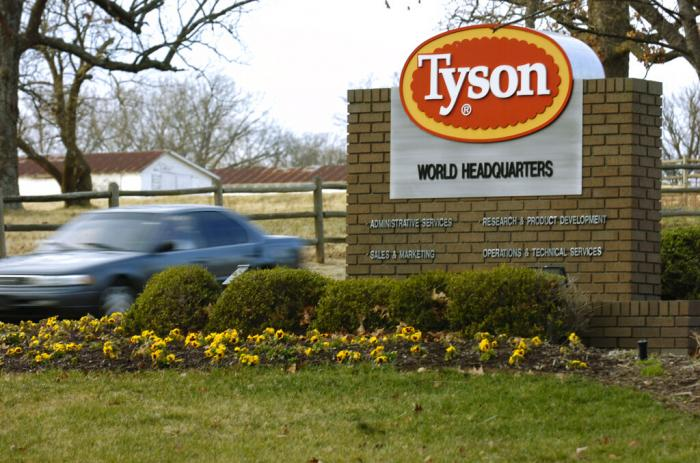 Tyson headquarters in Springdale, Ark.