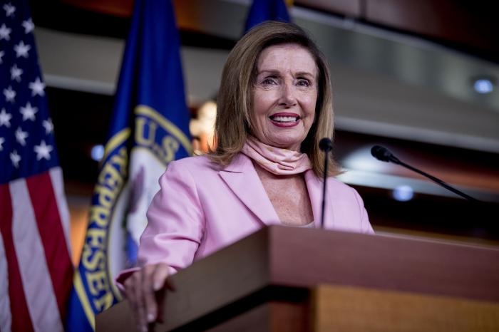 House Speaker Nancy Pelosi of Calif.
