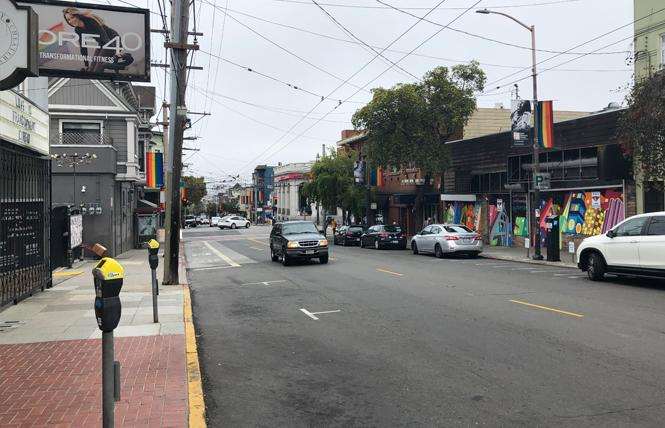 Plans to turn a portion of 18th Street in the Castro into an outdoor dining plaza on weekends have hit a roadblock.