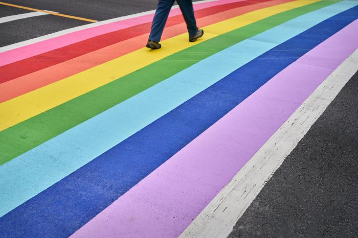 Man Charged with Doing 'Burnout' on LGBTQ Pride Crosswalk