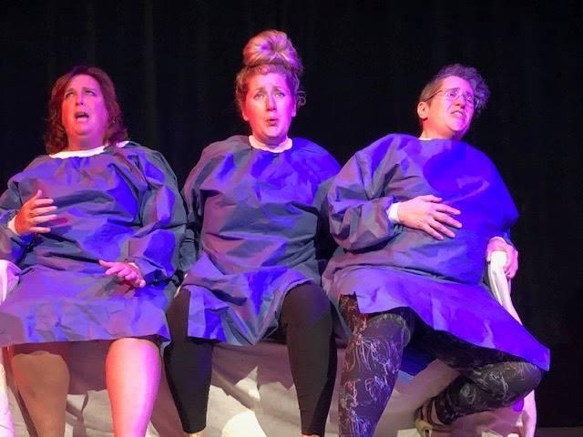 """Erika Lund, Crystal Weeks and Nicole Wilcox in """"Motherhood Out Loud"""""""