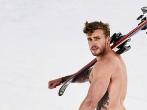 Gus Kenworthy Shares Bruised 'Peach' Pic After 'Really Stupid' Ski Accident