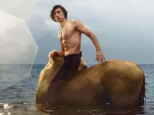 Adam Driver Morphs Into a Centaur in Thirst-Trapping Burberry Ad